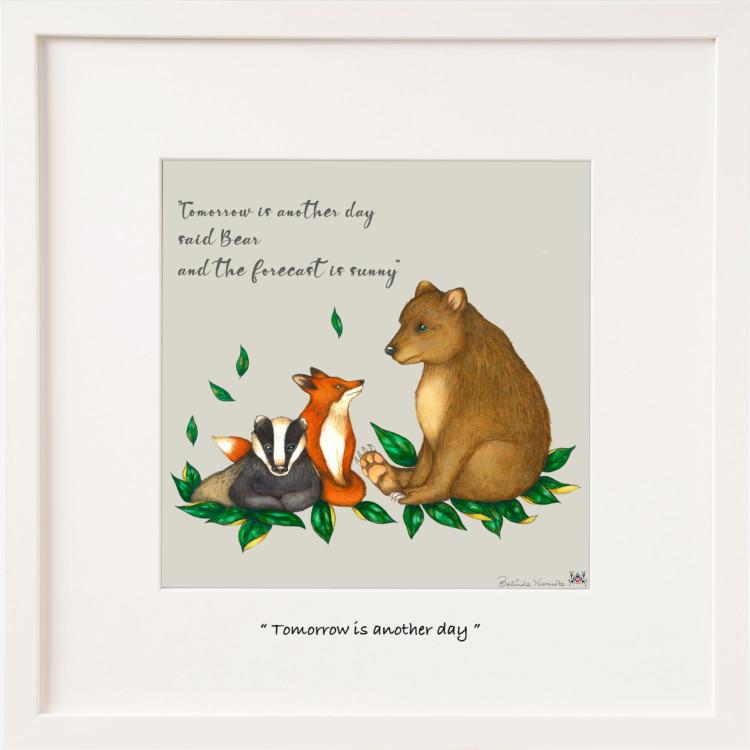 Bear Badger and Fox